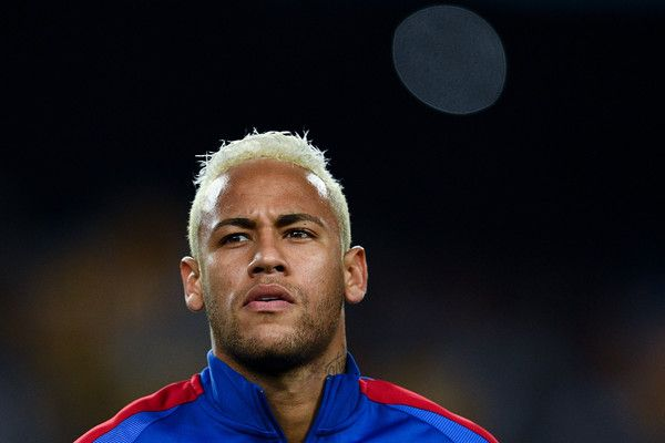 Neymar Jr. of FC Barcelona looks on prior to the UEFA Champions League Group C match between FC Barcelona and Celtic FC at Camp Nou on September 13, 2016 in Barcelona, Catalonia.