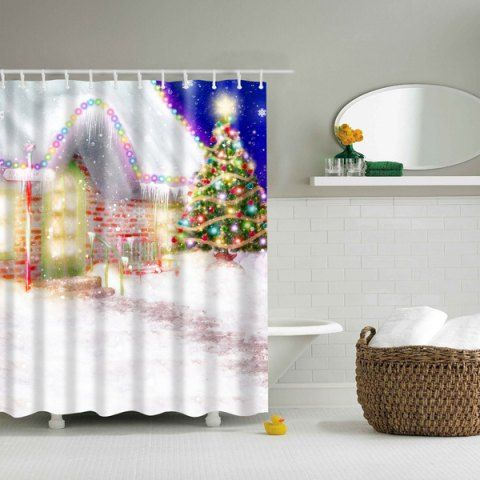 GET $50 NOW   Join RoseGal: Get YOUR $50 NOW!http://www.rosegal.com/bath-accessories-storage/romantic-christmas-eve-printed-waterproof-787519.html?seid=3634767rg787519