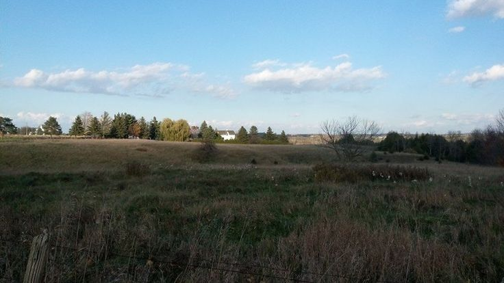 The rolling hills of Leaskdale, Ontario