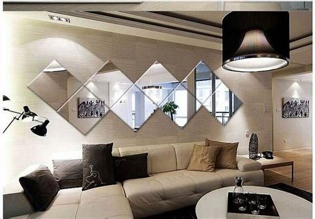 Remodeling Beautiful Mirror Tile Design For Your Elegant Living Room Kinghouse Mirror Decor Living Room Wall Mirror Decor Living Room Mirror Wall Living Room