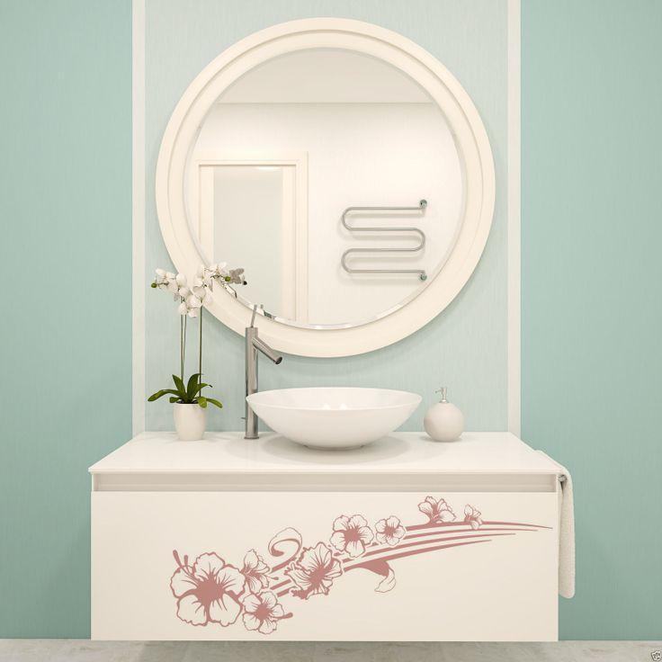 Details zu Wandtattoo WT866E Beach \ Hawaii Badezimmer Bad WC - wandtattoo für badezimmer