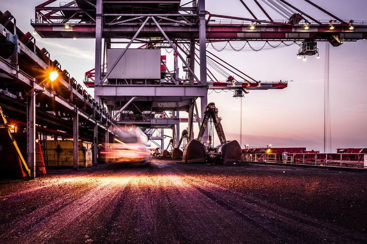 Unloading coal from a ship by Michael Daniel on 500px