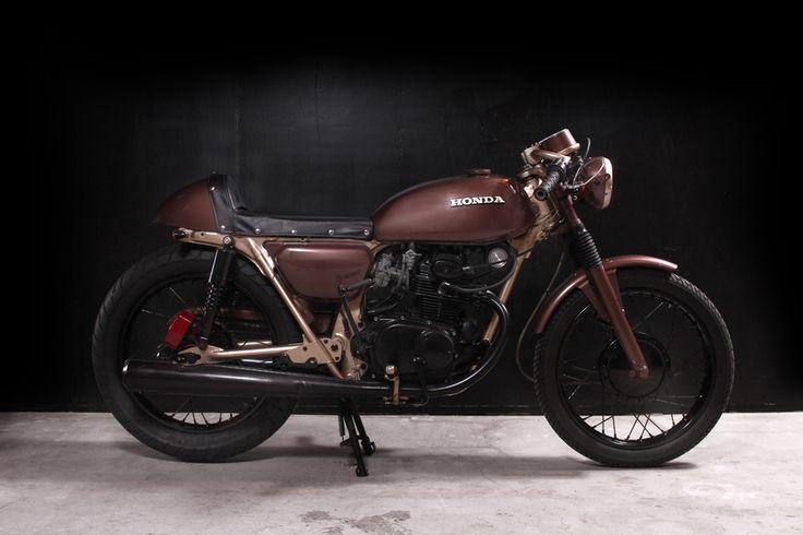 """Maybaline"" - 1971 CB/CL175, custom build by The Tarantulas, Portland"