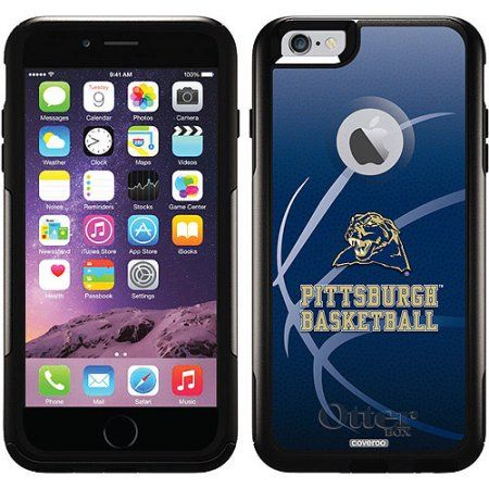 University of Pittsburgh Basketball Design on OtterBox Commuter Series Case for Apple iPhone 6 Plus