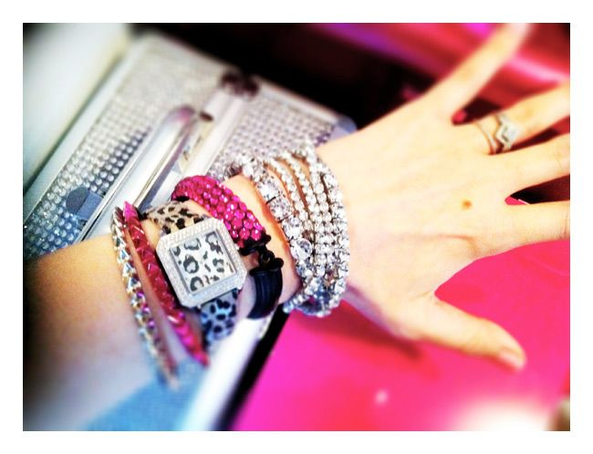 Arm party!: Bling