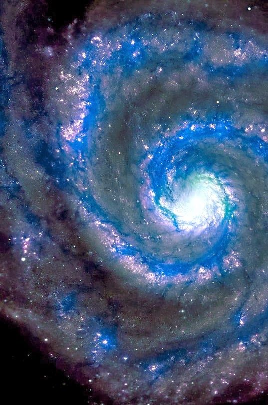 The Whirlpool Galaxy; One day I'd love to have the most powerful telescope that an amateur can buy...