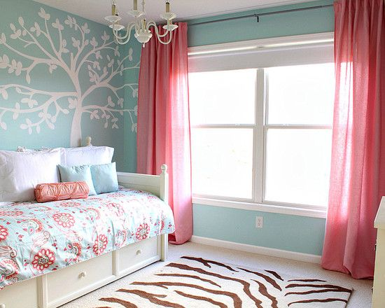 Love the color combo for a little girls room Traditional Kids Design, Pictures, Remodel, Decor and Ideas - page 11