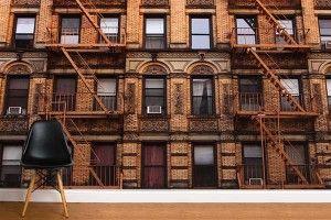 Papier peint façade New York http://www.izoa.fr/111-papier-peint-trompe-oeil