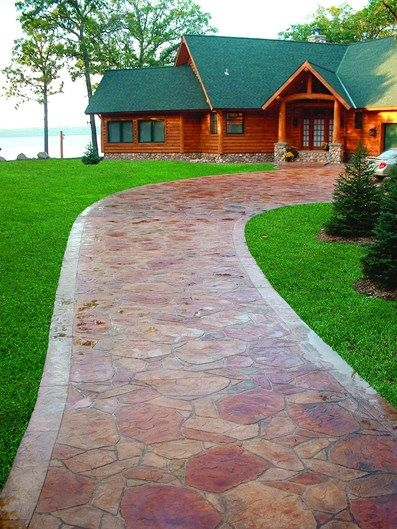 Red Granite Driveway : Best stepping stones ideas inspiration images on