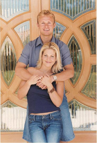Candace Cameron Bure with her husband  NHL player Val Bure