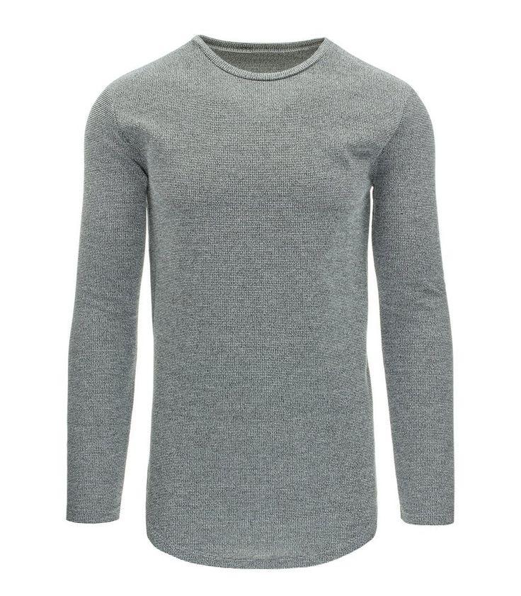 Pánsky šedy sveter