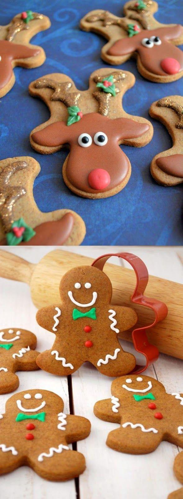 Bolinhos do pão de gengibre receita do feriado do Natal do cozimento melhor assar blogue bíblia - biscoitos do Natal