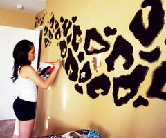 #DOINGTHIS: Decor, Ideas, Leopard Print, Animal Prints, Leopards Prints, House, Cheetahprint, Girls Rooms, Cheetahs Prints