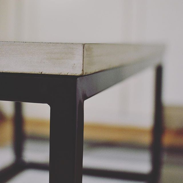 Sneak peek - stay tuned for more... #concrete #concretedesign #concretetable #steel #blacksteel #coffeetable #traditional #inspiration #quality #handmade #handcrafted #interior #table #interiordesign #norwegian #norwegiandesign #madeinoslo #sthanshaugen #modern #modernart #moderndesign #home #homeinspo #local #localbrand