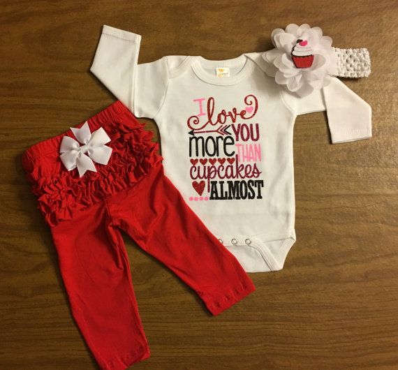 infant valentines day outfit newborn girl by keepsakekonnections - Infant Valentines Day Outfits