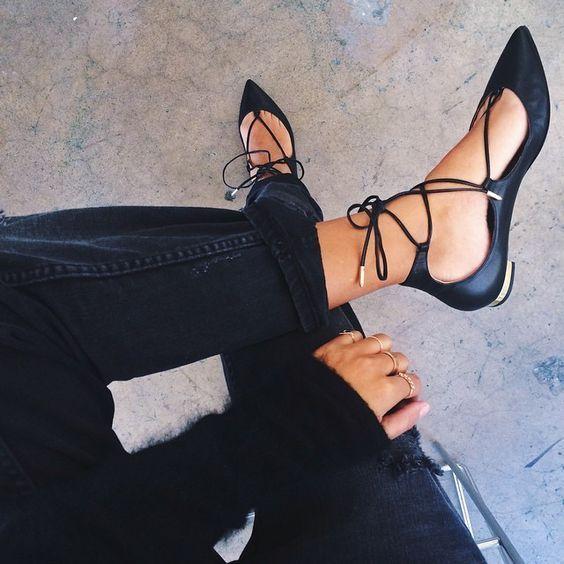 Lace up shoes: como combinar
