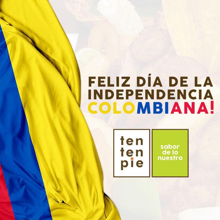 ¡Feliz Día de la Independencia COLOMBIA! 💛💙💖 #Cocinacolombiana #Tentenpiecolombia #FelizDíadelaIndependencia