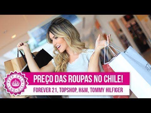 Compras de roupas no Chile   Forever 21,Topshop, H&M, Nike, Tommy Hilfiger