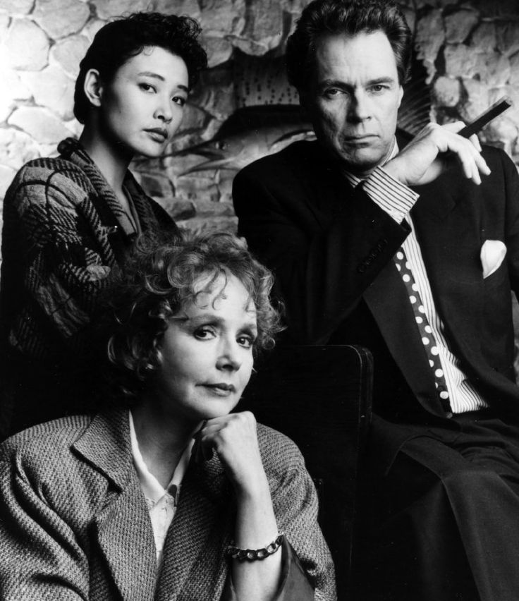 Richard Beymer, Joan Chen, and Piper Laurie in Twin Peaks (1990)