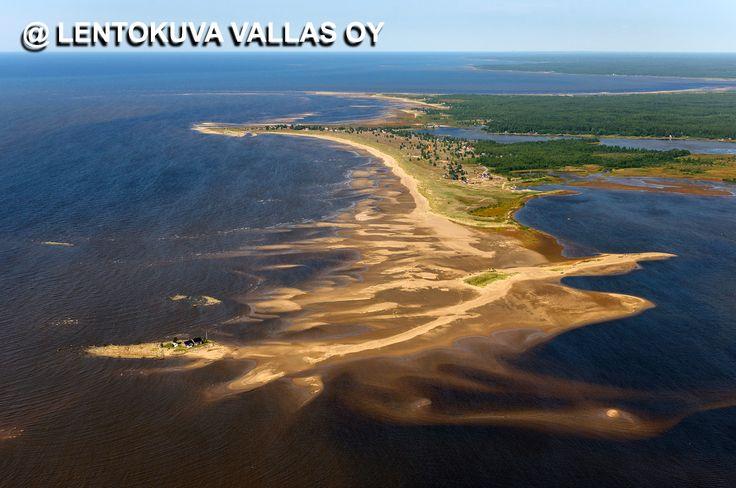 Kalajoki, hiekkasärkät Ilmakuva: Lentokuva Vallas Oy