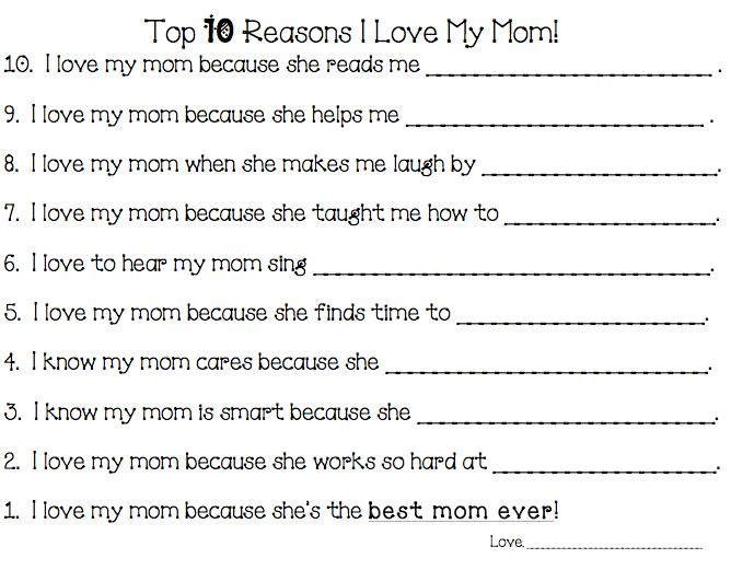 Essay my mother class 2