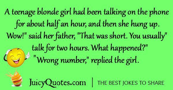 Funny Blonde Joke -65