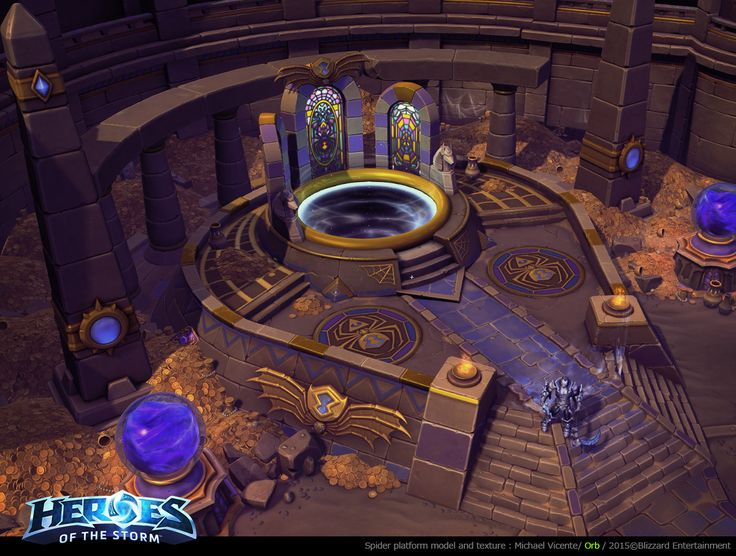 ArtStation - Heroes of the Storm, Michael vicente - Orb