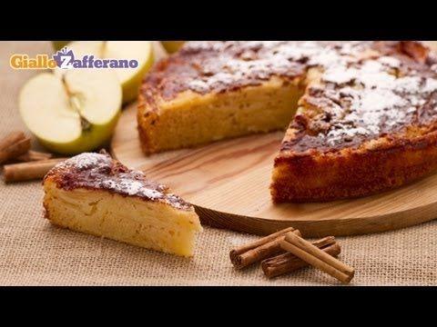 Torta rustica di mele - YouTube