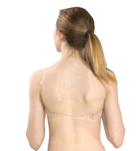 Women's Athletic Underwear - BASIC MOVES 4722 ADULT CLEAR BACK SEAMLESS BRA TOP ** Want to know more, click on the image.