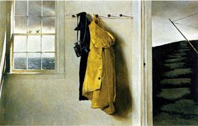 Squall (1986), de Andrew Wyeth.
