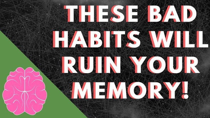 These Bad Habits Will Seriously Damage Your Memory And Concentration - S...