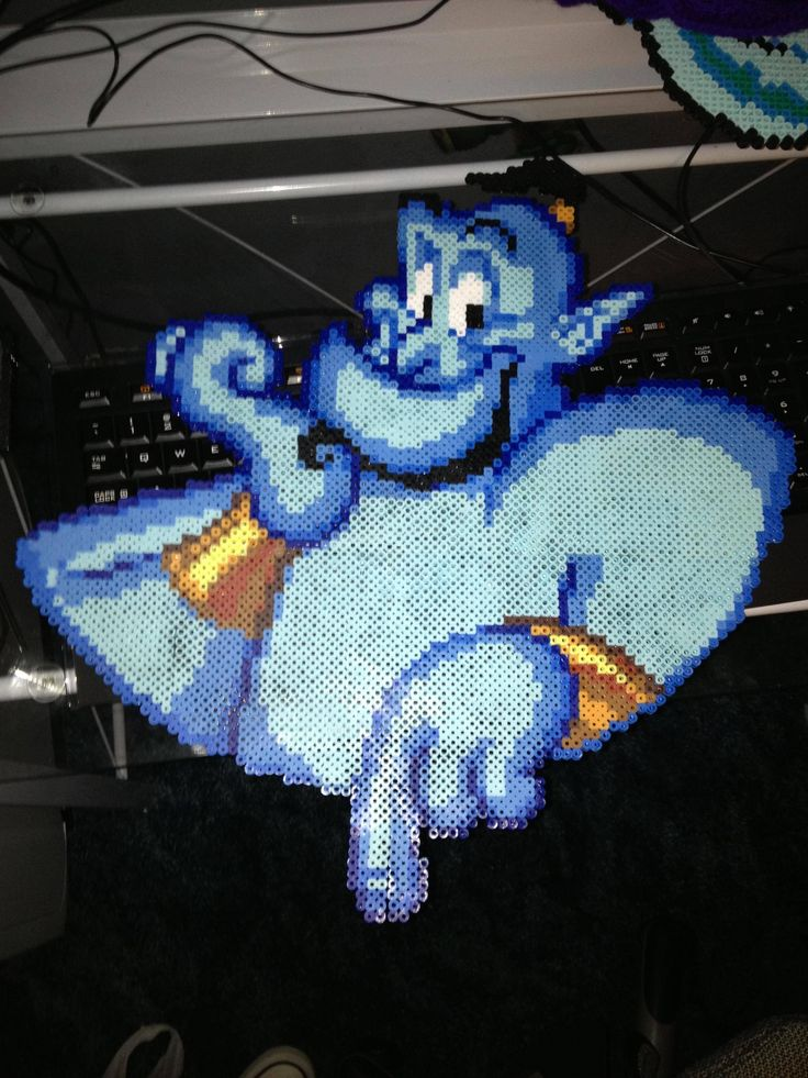 Aladdin hama perler beads
