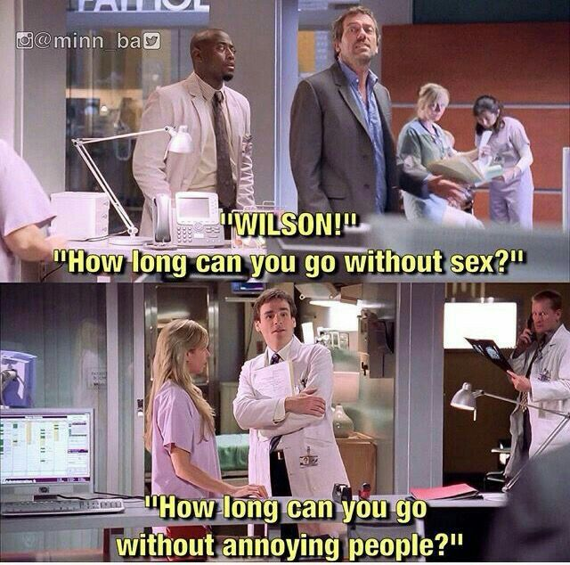 House and Wilson! I Miss them :(