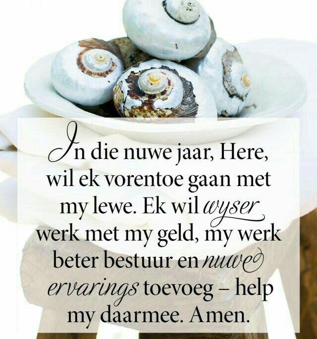 Een gebed wat ons almal in 2017 kan voor saambid! Op die ou-einde kan ons niks doen sonder Hom nie. Markus 10:27
