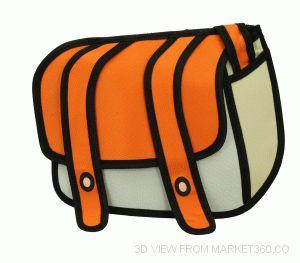 Cartoon bag 3D