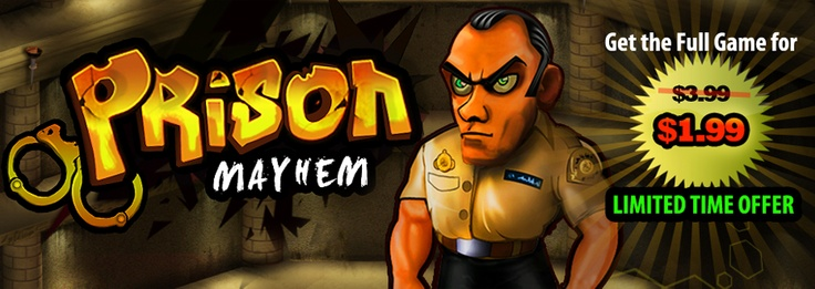 Get Prison Mayhem for iPhone, iPad & Mac for upto 50% OFF! Limited Time Offer :)