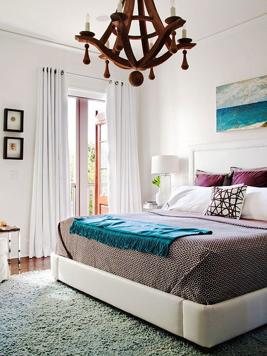 I love high beds