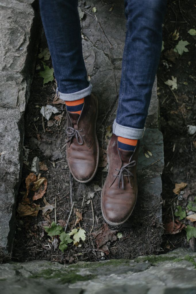 / photo by Kylie Johnston  Clark desert boots are my favorite everyday shoe.