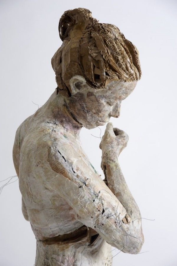 paper and cardboard sculpture