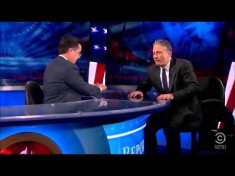 Stephen Colbert Walks Off    The View flv   YouTube
