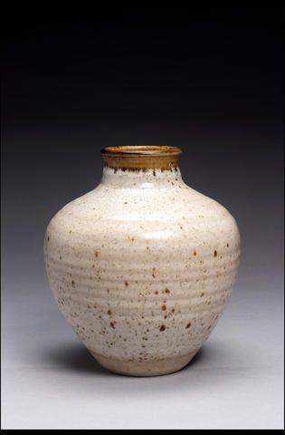 A Studio pottery urn by Herber Matthews