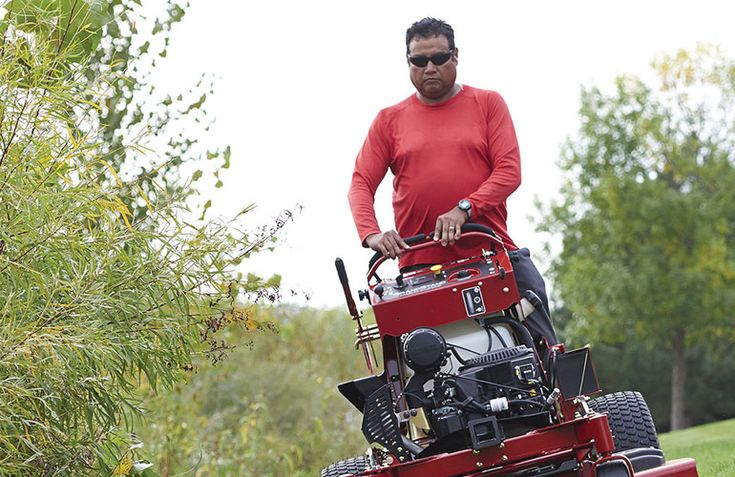 In terms of commercial mowers, stand-on mowers fit between mid-sized walk-behinds and zero-turns.