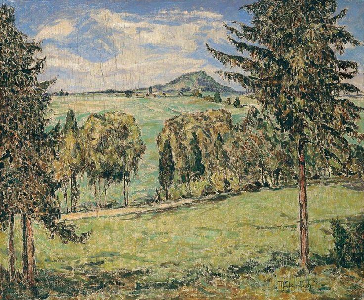Max Clarenbach, EIFELLANDSCHAFT., Auktion 903 Alte Kunst (900 C), Lot 1478