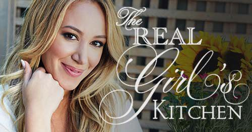 Make Haylie Duff's Asian inspired recipes from The Real Girl's Kitchen, including pouch ramen with shrimp, an Asian salad, and brownies with raspberry coulis