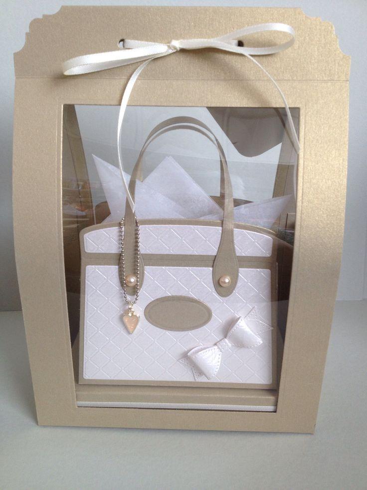 Boxed Kensington bag