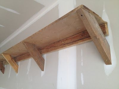 easy diy garage shelving from reclaimed barn wood donu0027t worry be happy