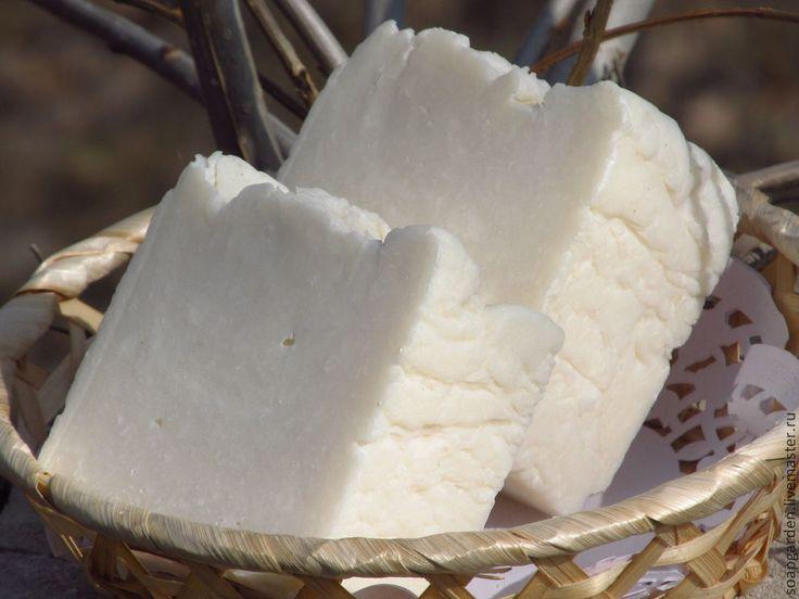 """Мыло хозяйственное """"Помогайка"""", натуральное, для стирки, эко дом - белый"""