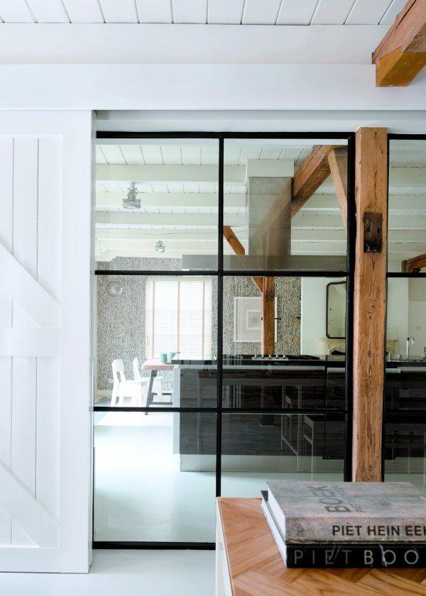 Aux Pays-Bas, une ferme transformée en maison moderne - Marie Claire Maison