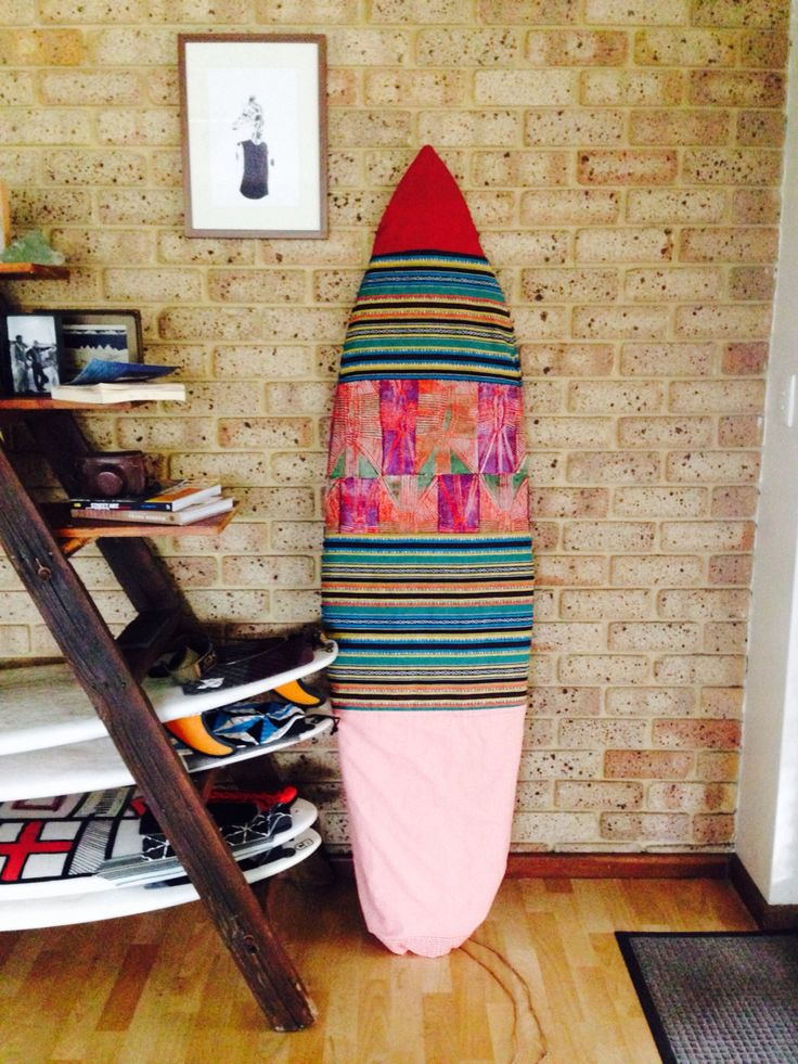 DIY surfboard bag I made for jake!