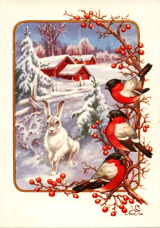 с первым днем зимы винтаж картинки можете создавать